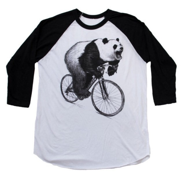 Custom Hand Screen Printed Bicycle T Shirts By