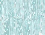 NEW True Colors by Joel Dewberry Wood grain in Aqua 1 yard
