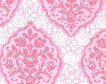 Tweet La Vie Floral Jessamina Damask in Pink from Michael Miller 1 yard  YES!! I combine shipping, use flat rate envelopes