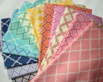 The Quattrefoil collection Fat quarter set