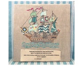 Where shall we Adventure -  Pirate Ship Applique pdf pattern