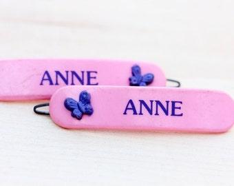 Hair Clips - Anne