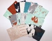 "Hello Bear,Precut Squares, 6"",Quilt, Squares,Blue, Gray,Black,Brown, Customized, Art Gallery Fabrics, Baby,Boy,Unisex,Baby,Girl, Toddler"