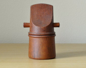 "dansk teak peppermill with peugeot grinder #834 ""Hank"""