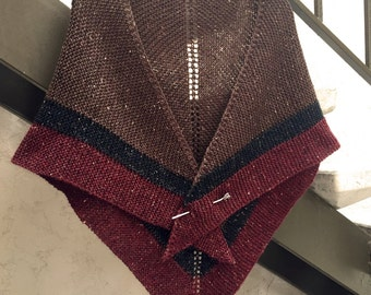 Outlander Rent Shawl Claire Triangle Tweed Highlands Wool, 4 Color Options, Made to Order