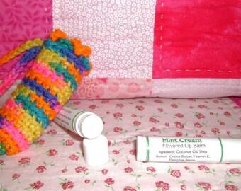 Mint Cream Lip Balm and Cuticle Softener