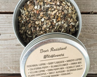 Deer Resistant Wildflower Seeds 1 oz., 4 oz., 8 oz.