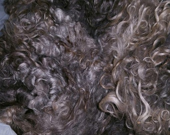 250 gr Natural Grey Mohair