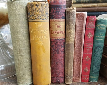 My Pretty Antique Victorian Books from Rustysecrets