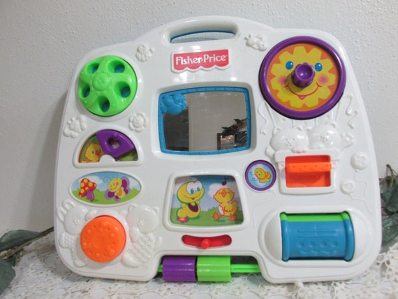 Fisher Price Crib Toys : Fisher price activity center crib toy