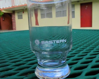 7 Eastern Airlines 4 Ounce First Class Juice Glasses