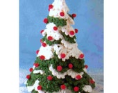 Vintage Crochet Pattern  Christmas Tree  Holiday Decorations  INSTANT DOWNLOAD PDF