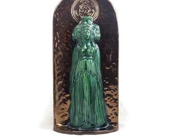 GODDESS HECATE HEKATE Statue Sculpture Handmade Ceramics