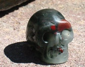 Gorgeous Bloodstone Skull~Small~Altar Statue~Ancestors