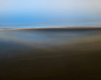 Blue Wave, minimal photography, giant wall art, abstract seascape, minimalist photo, large abstract art, modern photo, art for the home