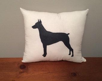 Doberman Pinscher Pillow