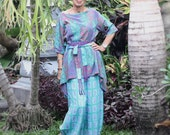 Ketut Tunic, Sizes S, M, L, Bali Batik, Rayon