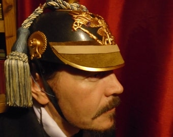 Steampunk  'Pickle helmet'