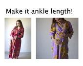 Make it ankle length