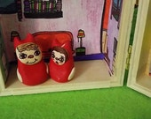 Little Weirdlings , portable toy set,adorable,demons,monsters,fun,desk decoration,kids,awesome,gift