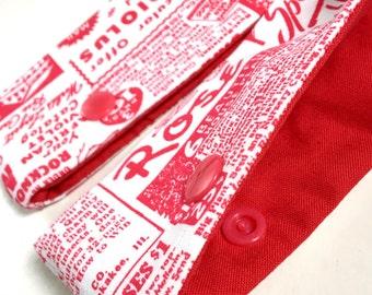 Dpn holder, Case for double Pointed Knitting needles- RETRO GARDEN