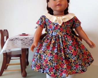 18 Inch Doll Clothes / Doll Dress / Dress / Doll Clothes / Doll Clothing / Doll Accessories / Fits American Girl Doll - 1058