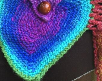Double Pocket Rainbow Pixie Belt