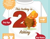 Turkey Birthday shirt - Birthday Girl shirt - Turkey Thanksgiving birthday party theme 08032016d