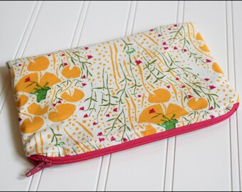 Frog Prince Zipper Pouch