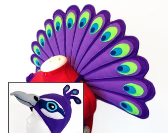 Peacock Wings. Durable.