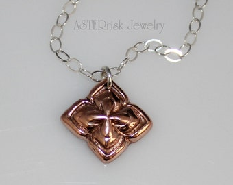 Necklace - Copper Sterling Silver
