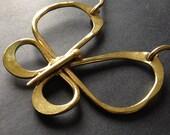 Butterfly Choker Necklace Metal Sculpture