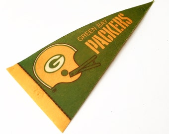 Vintage Green Bay Packers NFL Pennant