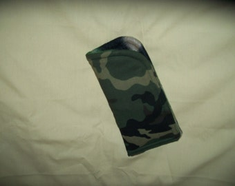 Camouflage  Fabric Eye glass Case
