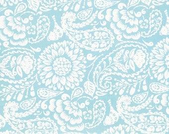 Meadowlark in Aqua ...  Meadow by Dena Designs ... Your choice of cut .. Aqua colorway