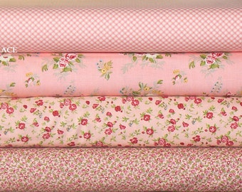 4 Fat Quarter Bundle Brenda Riddle Designs .. WINDERMERE .. collection ..  Blossom colorway
