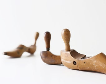 Vintage Shoe Form - Set of 3 - Industrial Decor