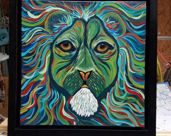 Leo the Lion - Handpainted