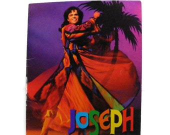 Joseph and the Amazing Technicolor Dreamcoat  Souvenir Program 1993 with Donny Osmond