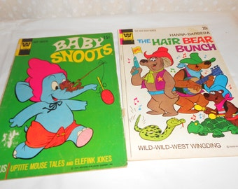 Comic Books Baby Snoots Hanna Barbera group of 2