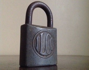 Antique Industrial ILCO Lock