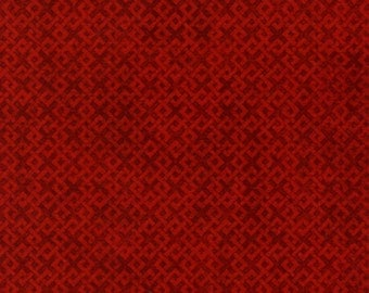 1 Yard fabric - INVENTORY SALE- Wilmington fabric by the yard- color- Red
