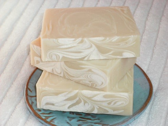 Coconut Soap / Sweet Tropical / Cold Process Handmade Soap