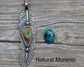 Sterling Silver Morenci Turquoise with Pyrite Collector's Edition