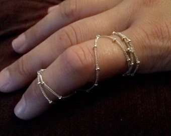 Full Finger Chain Ring