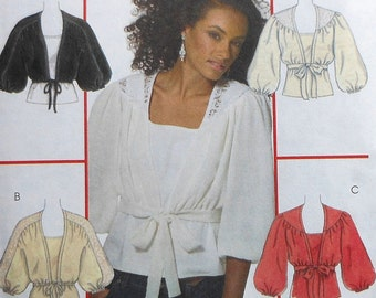 Shrug and Top Sewing Pattern UNCUT McCalls M5428 Sizes 6-14