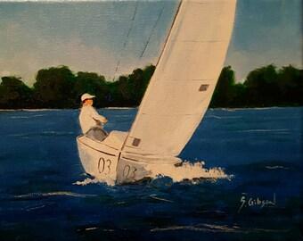 Inland Lake Sailing