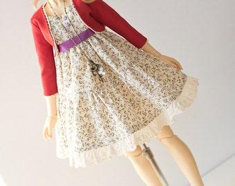 le printemps - lolita set outfit for Super Dollfie Dollfie Dream DD SD Volks Luts Soom Fairyland bjd abjd