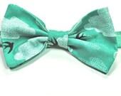 Teal Boys Bow Ties Custom Bow Ties Cloud Bow Ties Bird Bow Ties Cotton Bow Ties