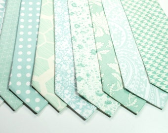 Mint Neckties Wedding Neckties Mint Necktie Mens Neckties Custom Neckties Mens Neckties